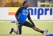 Didier Drogbaa ressenti quelques douleurs à un genou,... (PhotoGraham Hughes, La Presse Canadienne) - image 2.0