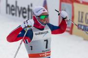 Le vainqueur de l'épreuve, le NorvégienEmil Iversen.... (Photo Hugo-Sébastien Aubert, La Presse) - image 1.0