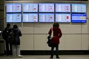 À l'aéroport Montréal-Trudeau, plusieurs départs et arrivées ont... (La Presse) - image 3.0