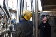 Un employé du Groupe Rouillier en pleine opération... (Photo fournie par le Groupe Rouillier) - image 1.0