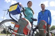Justine l'Heureux et son copain Jansen Schmitt... (Olivier Croteau) - image 1.0