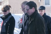 L'ancien député péquiste, Stéphane Bédard, a également assisté... (Photo Le Quotidien, Michel Tremblay) - image 2.1