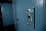 Dans la peinture bleue qui recouvre les murs... (PHOTO OLIVIER JEAN, LA PRESSE) - image 3.0