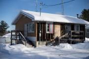 Le poste de police de Lac-Rapide est en... (PHOTO OLIVIER JEAN, LA PRESSE) - image 7.0