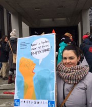«Solidarité avec les femmes du monde entier!»... (La Tribune, René-Charles Quirion) - image 1.0