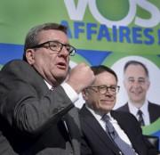 Les deux maires, Régis Labeaume et Gilles Lehouillier... - image 2.0