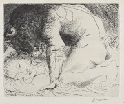 Pablo Picasso (1881-1973), Minotaure caressant une dormeuse, 18... (Courtoisie) - image 2.0