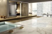 Du quartz pur orne le sol d'un spa.... (Fournie par Château Marbre et Granit) - image 2.0