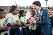 Aussitôt arrivé à Washington et accueilli par les... (Photo Paul Chiasson, La Presse Canadienne) - image 1.0