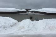 C'est la partie centrale du toit qui s'est... ((Photo Le Quotidien, Denis Villeneuve)) - image 1.0