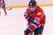 L'attaquante Marie-Philip Poulin a terminé la saison en... (Fournie par les Canadiennes de Montréal, Louis-Charles Dumais) - image 3.0
