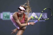 Eugenie Bouchard a amorcé le Masters 1000 d'Indian... (AFP, Julian Finney) - image 3.0