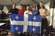 Les Québécois Gabriel Renaud, Guillaume Bouvet-Morrissette, Olivier Larouche,... - image 4.0