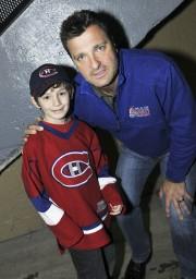Le jeune Jérémy Bouchard était bien content de... (Photo Le Quotidien, Rocket Lavoie) - image 2.0