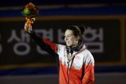 Marianne Saint-Gelais est montée sur la plus haute... (Photo PC) - image 2.0