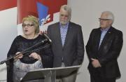 Plusieurs militants du Parti libéral étaient réunis samedi... (Photo Le Progrès-Dimanche, Rocket Lavoie) - image 1.0
