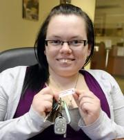 Les plaques porte-clés permettent notamment d'amasser des sommes... (Photo Le Quotidien, Jeannot Lévesque) - image 2.0