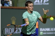 Vasek Pospisil (photo) s'est incliné 1-6, 6-0, 6-1... (Archives Associated Press) - image 2.0