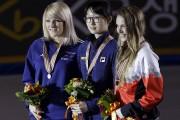 La Félicinoise Kasandra Bradette (à droite) a remporté... (Photo AP) - image 2.0