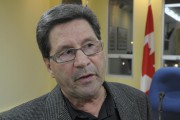 Le conseiller Charles Fréchette, président du comité incendie... (Sylvain Mayer, Le Nouvelliste) - image 1.1