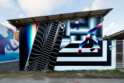 Avec son style aux limites du graffiti et... (PHOTO FOURNIE PAR LE FESTIVAL MURAL) - image 2.0