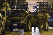 La police sécurise un secteur de Bruxelles.... (AP, Geert Vanden Wijngaert) - image 2.0