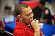 Anwar Stewart,entraîneur de la ligne défensive... (Photo André Pichette, La Presse) - image 2.0