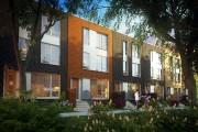Les maisons en rangée Homes peuvent avoir deux... (ILLUSTRATION FOURNIE PAR SOTRAMONT) - image 3.0