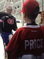 Un jeune hockeyeur sherbrookois a vécu une expérience... (La Tribune, Sébastien Lajoie) - image 1.0