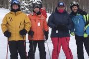 Richard Grégoire (deuxième à partir de la gauche)... (Serge Lafrenière) - image 2.0