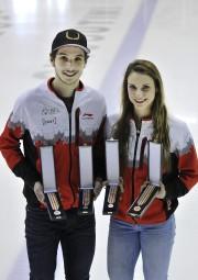 Mission accomplie pour les patineurs Samuel Girard et... (Photo Le Quotidien, Rocket Lavoie) - image 2.0