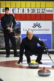 Yannick Martel de l'équipe Sag-Lac 2 (à l'avant)... (Photo Le Quotidien, Rocket Lavoie) - image 2.0