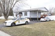 Les policiers de la Sûreté du Québec s'étaient... (Janick Marois, La Voix de l'Est) - image 2.0