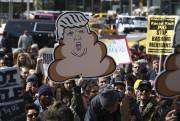 Des New-Yorkais se rassemblent pour prendre part à... (PHOTO KENA BETANCUR, AGENCE FRANCE-PRESSE) - image 1.0