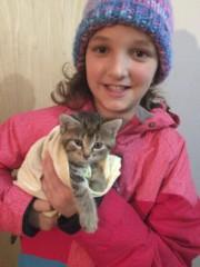 Le 14 mars dernier, Thalia Brindle adoptait son... (Photo courtoisie) - image 1.0