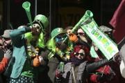 Le 193e défilé de la Saint-Patrick de Montréal... (Photo Robert Skinner, La Presse) - image 1.0