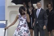 Le président américain, Barack Obama, a descendu la... (AFP) - image 2.0
