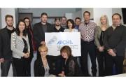 Des membres de l'APCHQ Lac-Saint-Jean, de La Nichée... (Photo Le Quotidien, Jonathan Hudon) - image 1.0