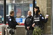 Les policiers sont plus visibles dans le métro... (Photo Patrick Sanfaçon, La Presse) - image 1.0