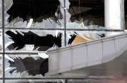A blown out window in the terminal at... - image 1.1