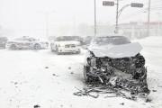 Plusieurs accidents matériels sont survenus sur le territoire.... ((Photo Le Quotidien-Rocket Lavoie)) - image 1.0