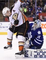 Les Ducks d'Anaheim et Paul MacLean visitent Ottawa,... (Frank Gunn, PC) - image 1.0