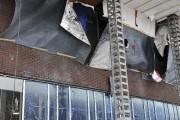 La brique utilisée comme revêtement extérieur du futur... (Photo Le Progrès-Dimanche, Rocket Lavoie) - image 1.0