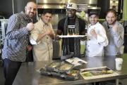 Les propriétaires de Fit Gastronomie, Vincent Beaulieu, Maxime... (Photo Le Progrès-Dimanche, Rocket Lavoie) - image 3.0