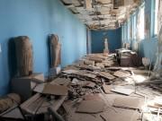 L'intérieur du musée historique de Palmyre, pillé par... (Photo via Reuters) - image 1.1