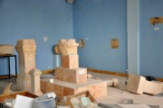 Des statues ont été détruites au musée de... (PHOTO AP/SANA) - image 1.0