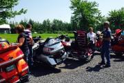 Les membres de clubs de motocyclette se rassemblent... (Photo courtoisie) - image 2.0