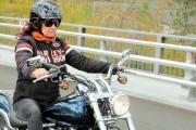 Marlène Bilodeau s'est procurée une Harley Davidson il... (Photo courtoisie) - image 3.0