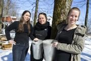 Fanny, Aline et Caroline Prince sont les nouvelles... (Olivier Croteau) - image 3.0