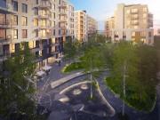 Dans Griffintown, la structure des édifices du complexe... (ILLUSTRATION FOURNIE PAR LEMAY-CHA) - image 5.0